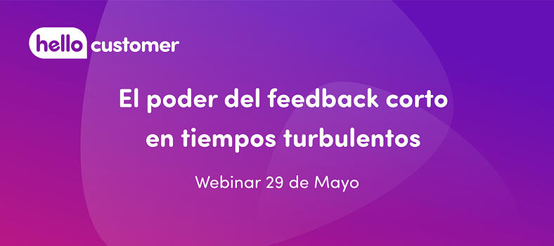 hello customer el poder del feedback corto