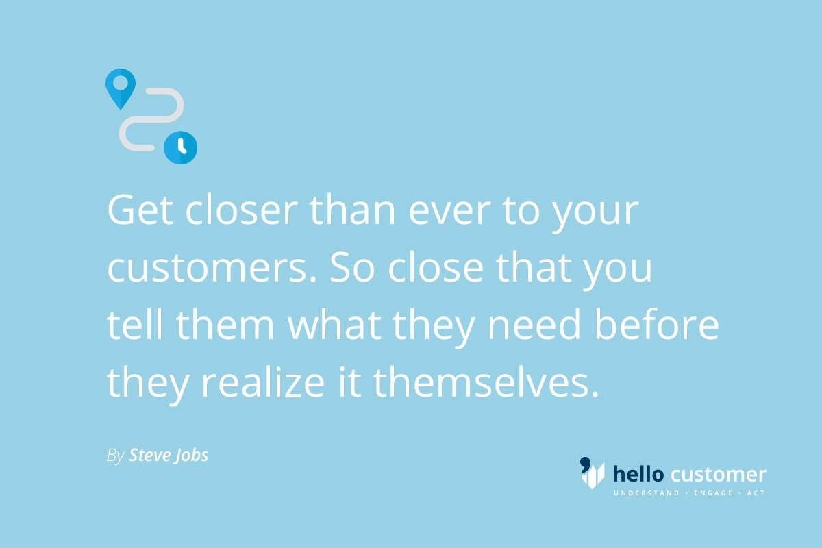 Understand customer needs better than your customer!