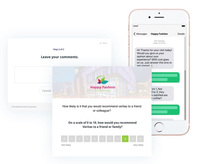 Capture real customer feedback from different channels