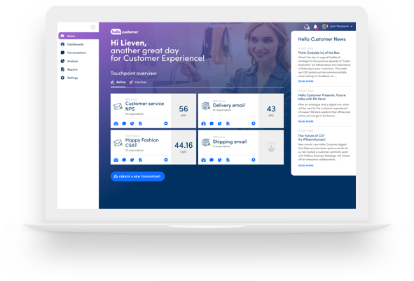 customer feedback management platform hello customer