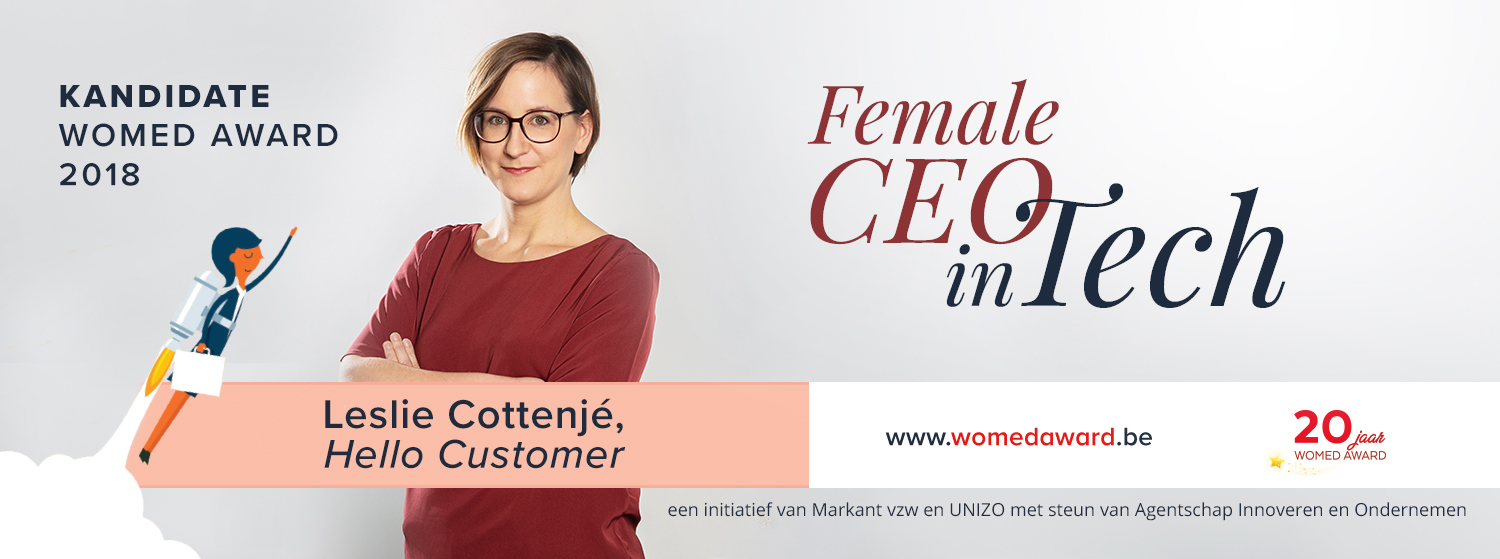 Our CEO nominated for 'Female Entrepreneur of the Year'!